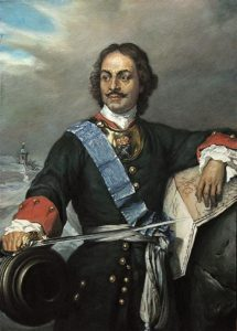 Peter the Great of Russia shungite